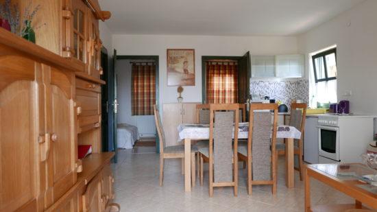 Két hálószobás apartman nagyobb társaságoknak.